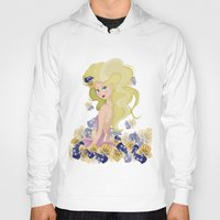 lucy Hoodies featuring Lucy by carotoki art and love