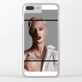 Troye Sivan Clear iPhone Case