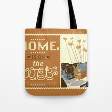 Home on the Web Tote Bag