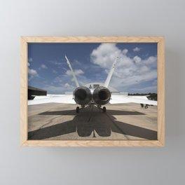 1178. Sonic Booms in Atmospheric Turbulence (SonicBAT) Testing Framed Mini Art Print