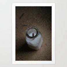 Milked Art Print