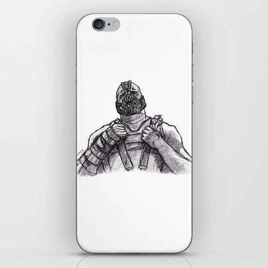 Necessary Evil iPhone & iPod Skin