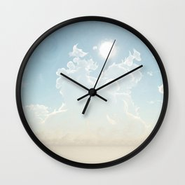 Cathedral of the Sun (Cloud series 19) Wall Clock