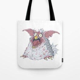 Creepy Furby Tote Bag
