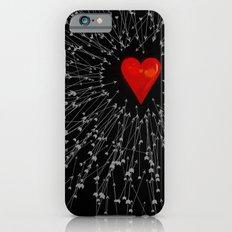 Heart&Arrows_BLACK iPhone 6s Slim Case
