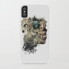 Forest Lake Dreams iPhone X Slim Case
