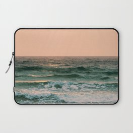 Pink Skies Ocean Vibes Laptop Sleeve
