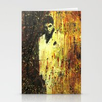 scarface Stationery Cards featuring Tony Montana in Scarface by Miquel Cazanya