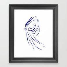 teuthida abispa  Framed Art Print