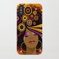 70s iPhone & iPod Cases featuring 70s Funk by Julia Barber