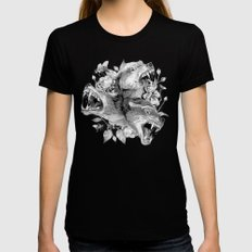 Cerberus SMALL Black Womens Fitted Tee