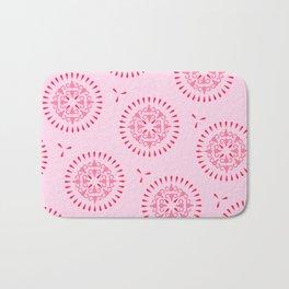 Uteri, Period. In pink Bath Mat
