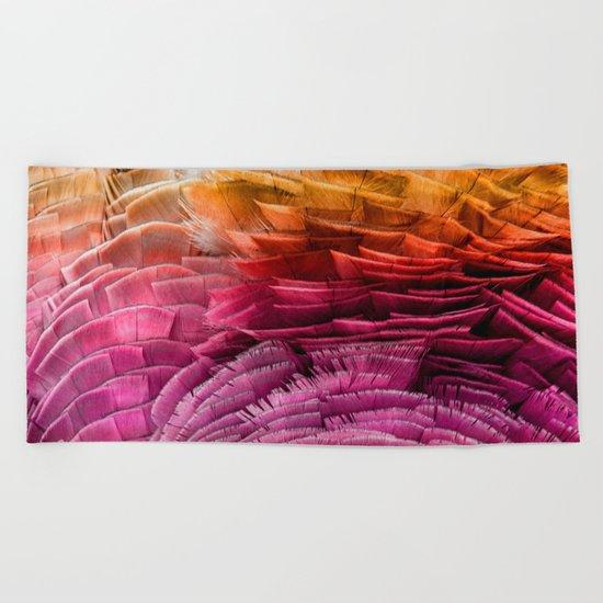 RUFFLED Beach Towel