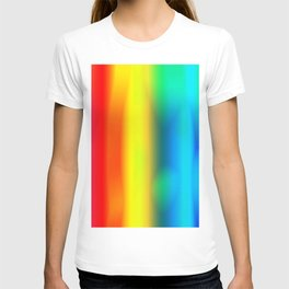 Rainbow Glowing T-shirt