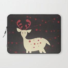 Christmas Reindeer Laptop Sleeve