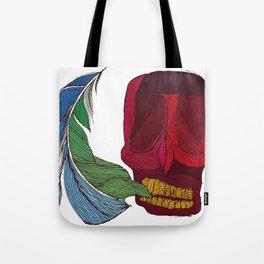 feathskull Tote Bag