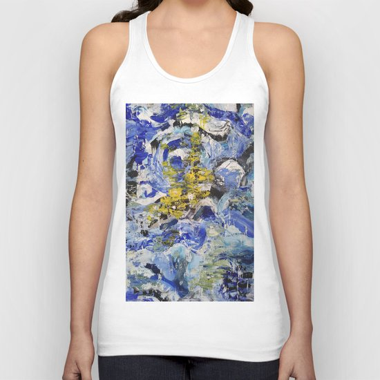 Abstract painting 5 Unisex Tank Top