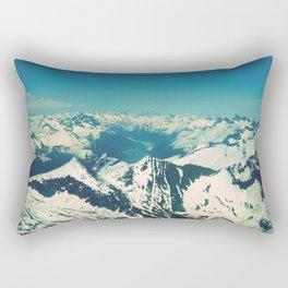 Mountain Peaks | Photography Rectangular Pillow