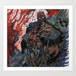 INTO THE PIT - Stefano Cardoselli  Art Print