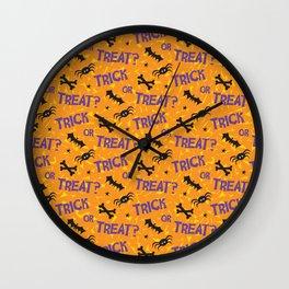 Trick or Treat? Wall Clock
