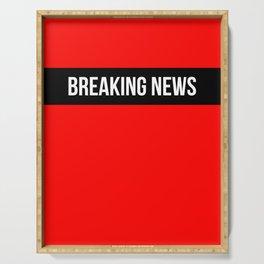 Hear Ye - Breaking News Design Serving Tray