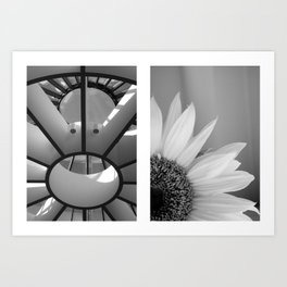 1, 2, 3 Soleil Art Print