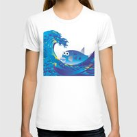 hokusai T-shirts featuring Hokusai Rainbow & Globefish  by FACTORIE
