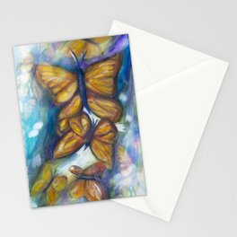 Shaded Wings Stationery Cards