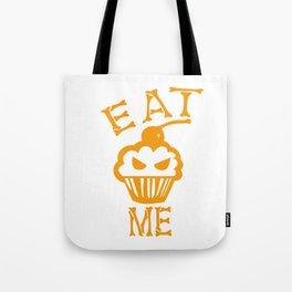 Eat me yellow version Tote Bag