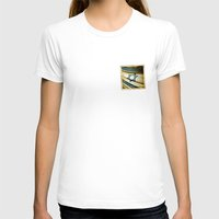 israel T-shirts featuring Israel grunge sticker flag by Lulla