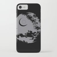 death star iPhone & iPod Cases featuring Death Star by Krakenspirit