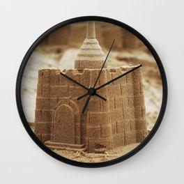 Sand Castle Wall Clock