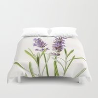 lavender Duvet Covers featuring Lavender by 83 Oranges™