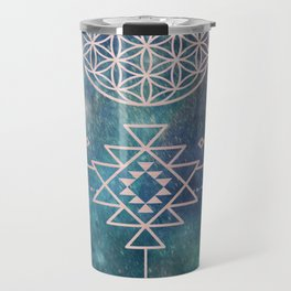 Lunar Goddess Mandala Travel Mug