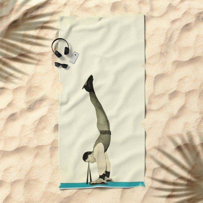 Skater Tricks Beach Towel