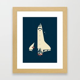 The Shuttle Framed Art Print