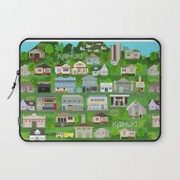 KAIMUKI TOWN, HAWAII Laptop Sleeve