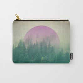 Orchid Vibes Forest Carry-All Pouch