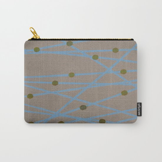 Screen Print design Carry-All Pouch