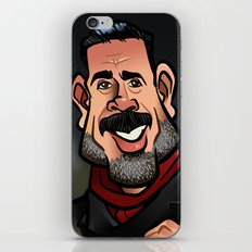 Negan and Lucille iPhone & iPod Skin