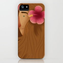 Natural Hair (Wavy) iPhone Case