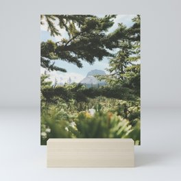 Peaking through Mini Art Print