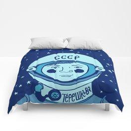 Valentina Tereshkova Comforters