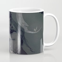 Dark Elven Moon Coffee Mug