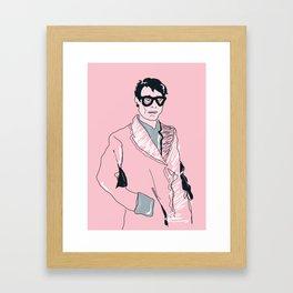 The Distinguished Businessman Framed Art Print