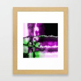 Crossing Paths Framed Art Print