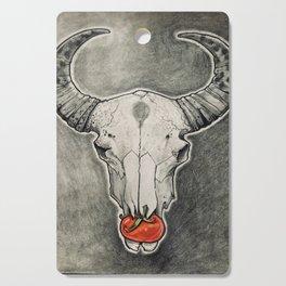 Tomato Skull Cutting Board