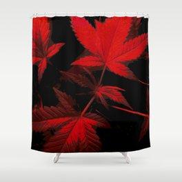 DaPlant - Red --- #GREENRUSH Shower Curtain