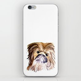 Pekingese love Dogs iPhone Skin