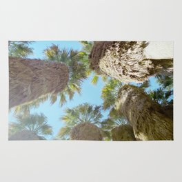 all natural palm trees Rug